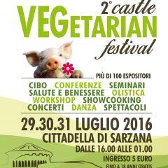 Dal 29 al 31 luglio il secondo Castle Vegetarian Festival a Sarzana